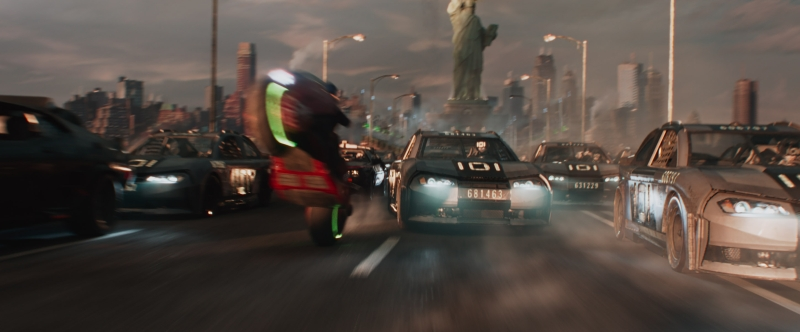 Ready Player One Car Chase