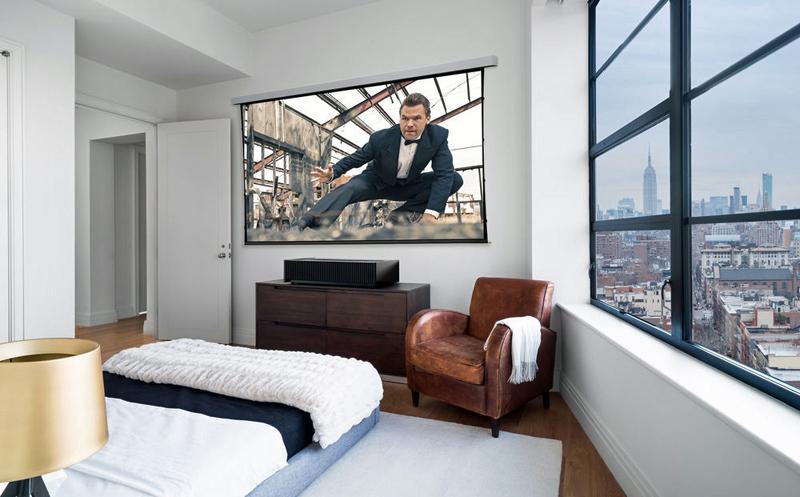 Sony VPL VZ1000ES lifestyle bedroom