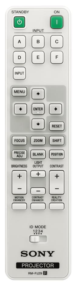 VPL GTZ380 Remote 250