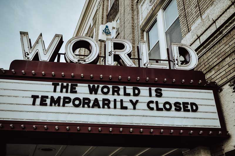 World Theater Closed slider