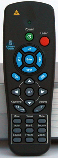 The TraveLight2 Remote Control
