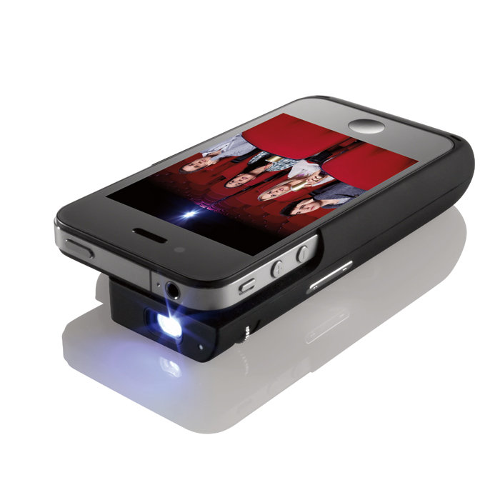 2dcd7974175aeb Brookstone Pocket Projector for iPhone 4
