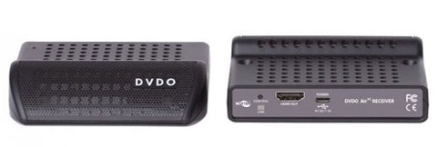 DVDO AIR3C Front and Rear Panel