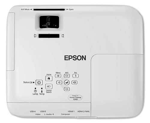 Epson 1040 Top View