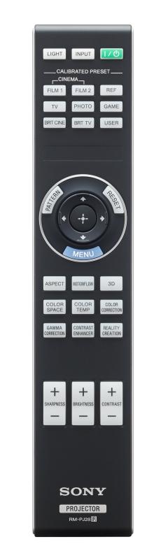 sony vplvw325es remote