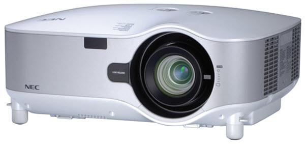 NEC NP3250W Projector
