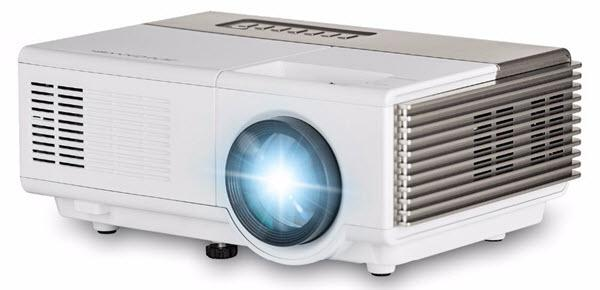 Caiwei A3 LED Mini Projector 1080p Projector