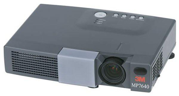 3M MP7640 Projector